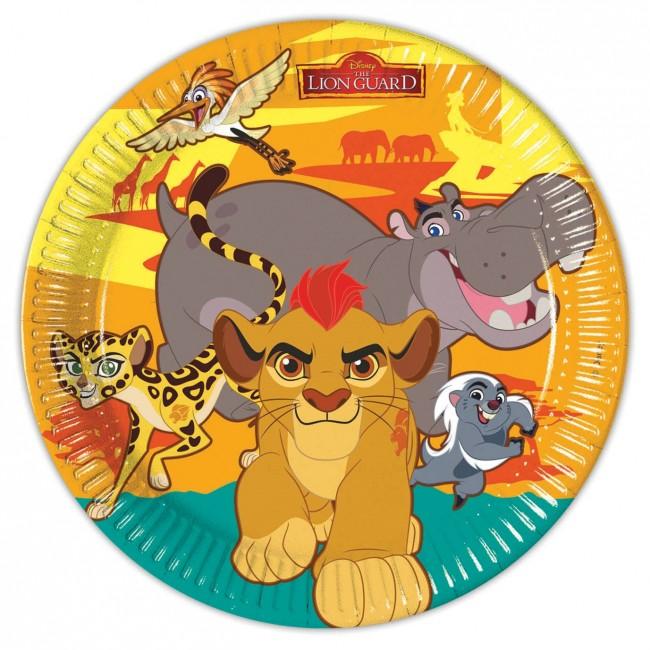 Lion Guard Plates
