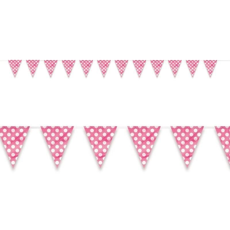 polka dot party flags - photo #25