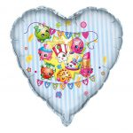Shopkins 28in Foil Balloon
