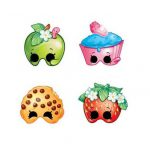 Shopkins Masks Assorted Designs