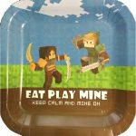 Minecraft Dinner Plate