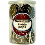 Swirly Pops Black