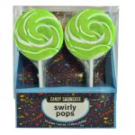 Swirly Pops Green (Box)