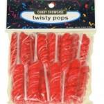Twist Pop Lollipop Red