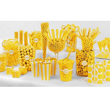 Yellow Candy Buffet-1