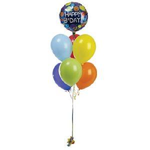 B'day Balloon Bouquet