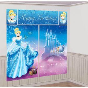 Cinderella Scene Setter Decoration Set