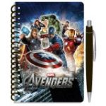 AVENGERS SPIRAL NOTEPAD with PEN