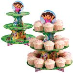 DORA THE EXPLORER CUPCAKE TREAT STAND