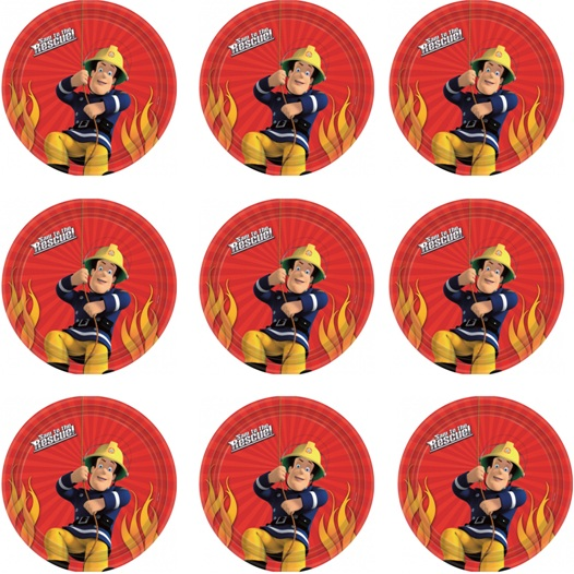 Fireman Sam Cupcake Icing Images This Party Started