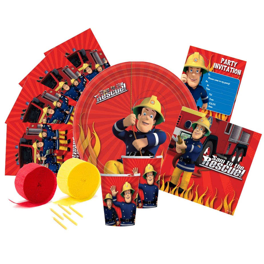 FIREMAN SAM PARTY PACK | This Party Started