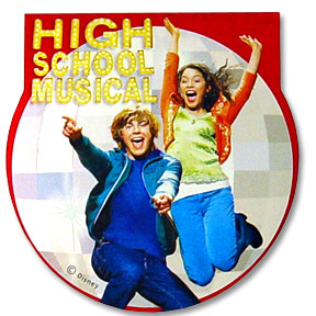 HIGH SCHOOL MUSICAL NOTE PAD
