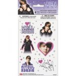 JUSTIN BIEBER TEMP TATTOOS