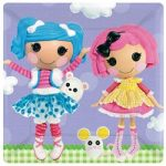 LALALOOPSY 10in DINNER PLATES