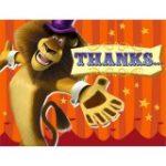 MADAGASCAR 3 THANK YOU