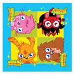 Moshi Monster Napkins