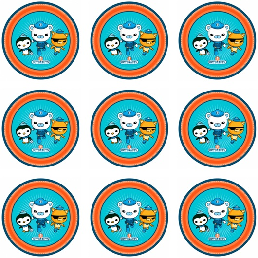 OCTONAUTS CUPCAKE ICING IMAGES | This Party Started