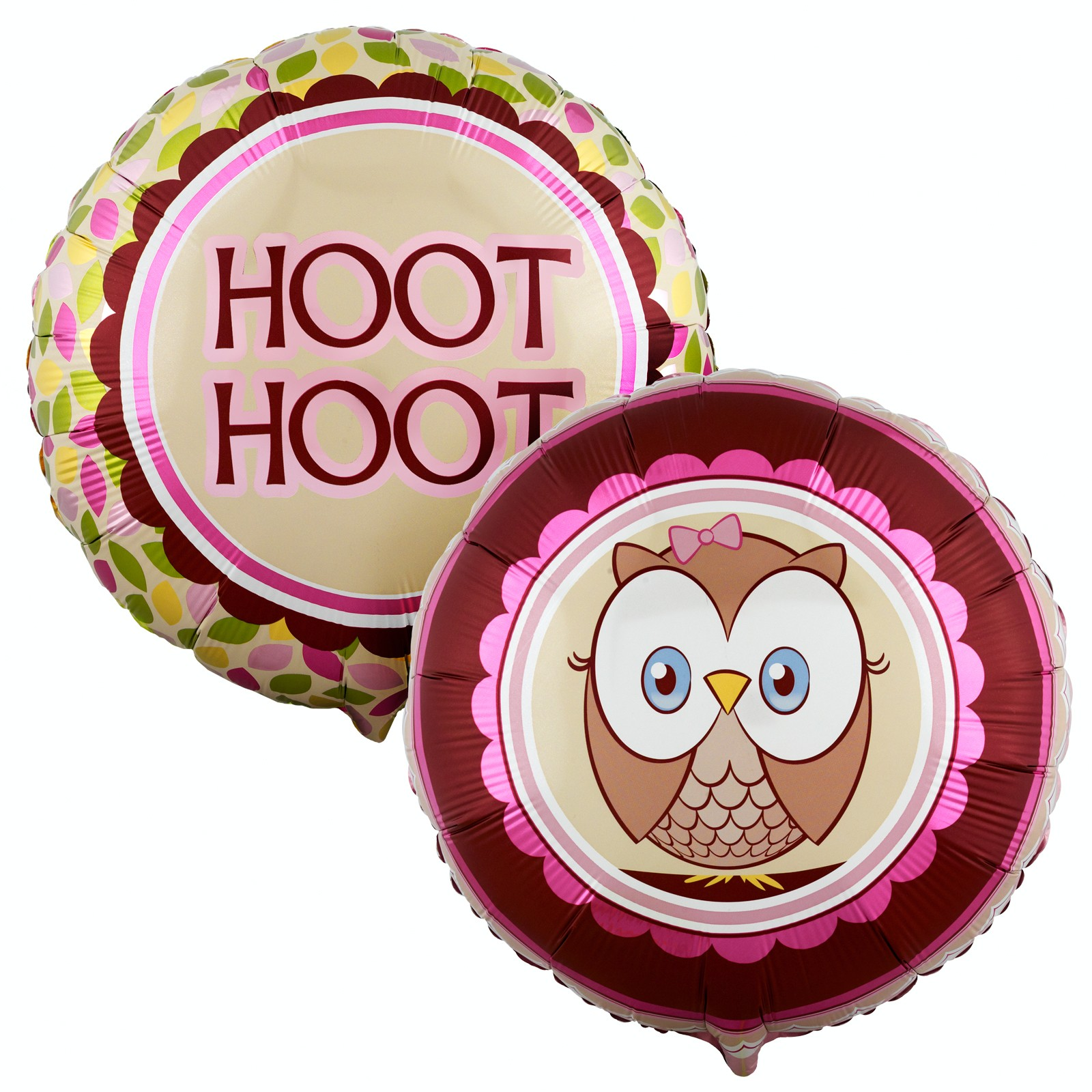 OWL PINK HOOT HOOT FOIL BALLOON | This Party Started