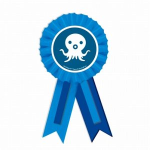 Octonauts Confetti Award Ribbon