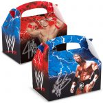 WWE WRESTLING EMPTY FAVOR BOXES