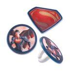 SUPERMAN CUPCAKE RINGS