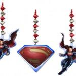 SUPERMAN DANGLER DECORATIONS