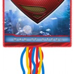 SUPERMAN PULL STRING PINATA