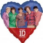 ONE DIRECTION 18in FOIL BALLOON