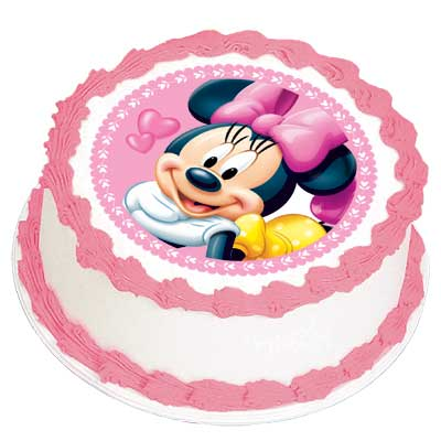 Edible Cake Images Review : MINNIE MOUSE EDIBLE ICING IMAGE This Party Started
