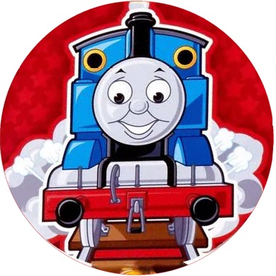 Thomas The Tank Engine Icing Image This Party Started