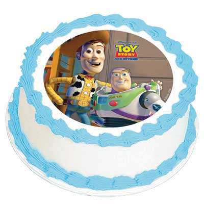 Buzz Amp Woody Edible Icing Image This Party Started