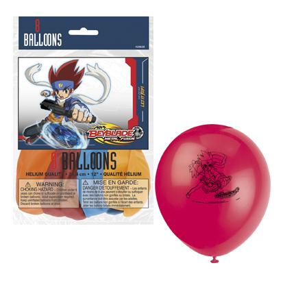Beyblade Latex Balloons
