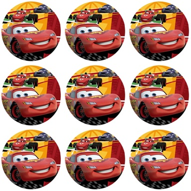 CARS 2 CUPCAKE ICING IMAGES | This Party Started