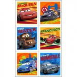 DISNEY CARS 2 STICKERS