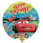 Disneys Cars Birthday Singatune Foil Balloon