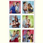 GLEE STICKERS-1