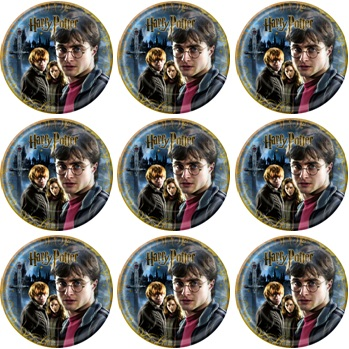 HARRY POTTER CUPCAKE ICING IMAGES