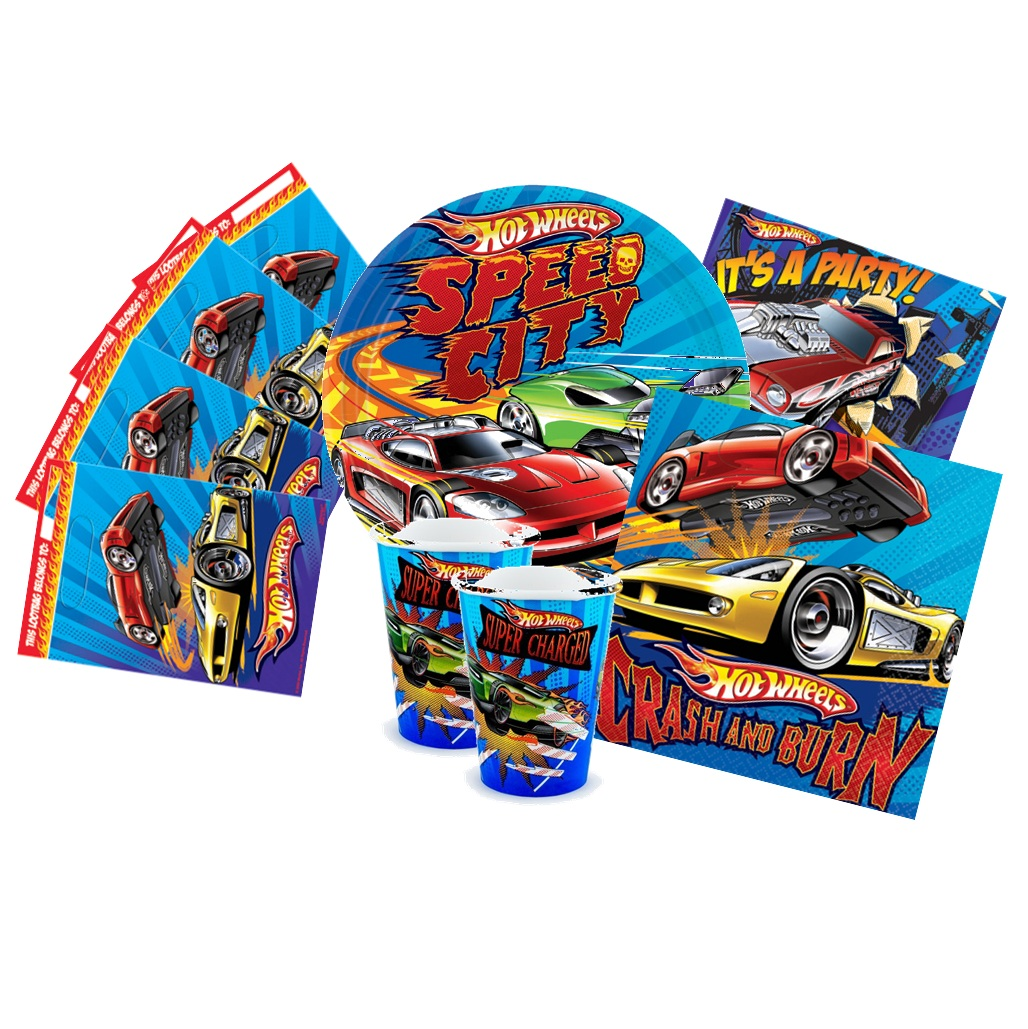 Home boys themes hot wheels hot wheels party pack