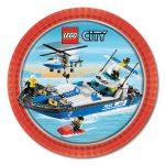 LEGO CITY CAKE ICING IMAGE (BOAT)