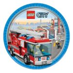 LEGO CITY CAKE ICING IMAGE (FIRETRUCK)