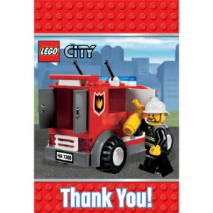 LEGO CITY THANK YOU NOTES
