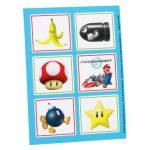 MARIO KART Wii STICKERS