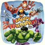 MARVEL HERO SQUAD HAPPY BIRTHDAY FOIL BALLOON