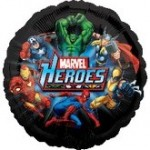 MARVEL HEROES MYLAR BALLOON