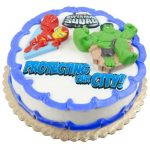 MARVEL SUPER HERO SQUAD CAKE TOPPER