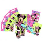 MINNIE BOWS PARTY PACK
