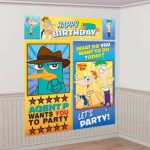 PHINEAS and FERB WALL DECORATNG KIT