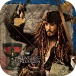 PIRATES OF THE CARIBBEAN DINNER PLATE