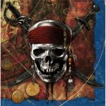 PIRATES OF THE CARIBBEAN LUNCH NAPKIN