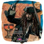 PIRATES OF THE CARIBBEAN MYLAR BALLOON 18in